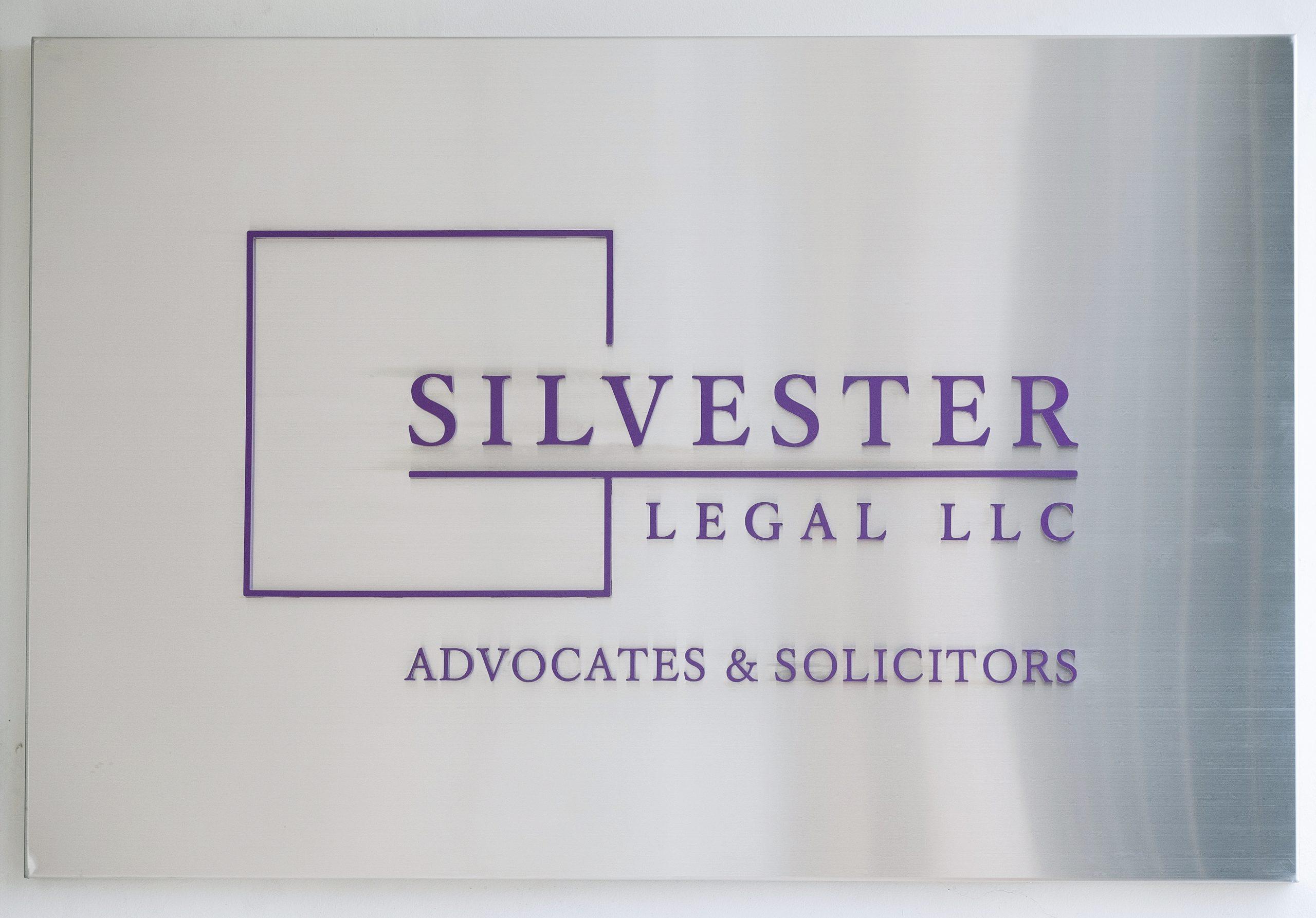 Silvester Legal SIgnage