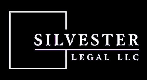 Silvester logo reverse white