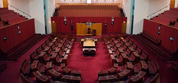 a high court room
